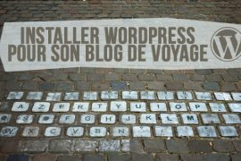 installer wordpress blog voyage