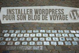 installer wordpress blog voyage