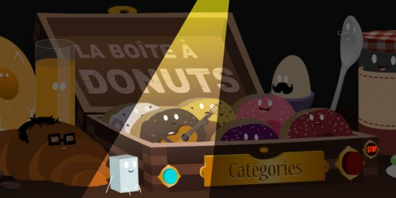 la boite a donuts animation flash