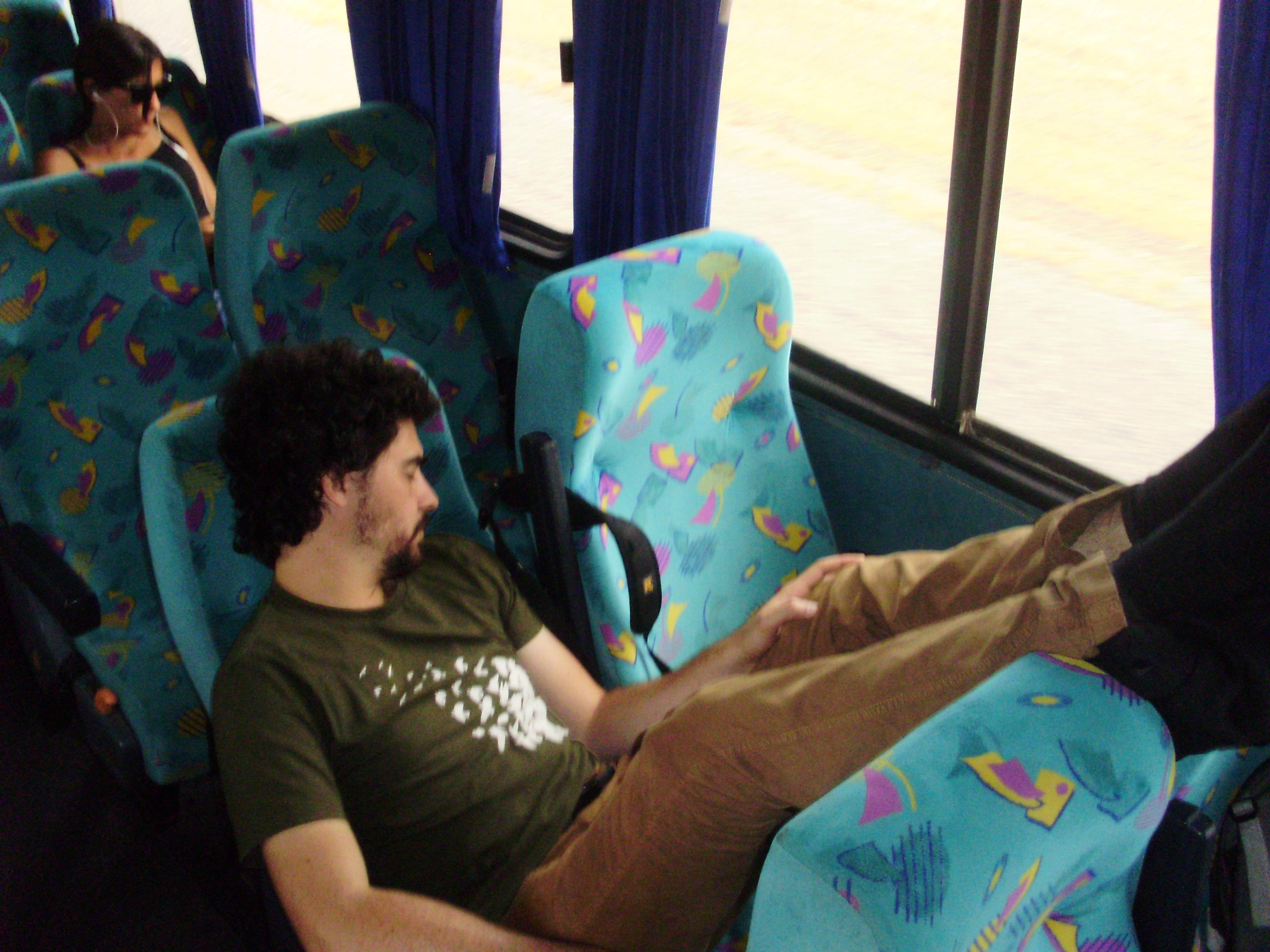 le confort des bus argentins