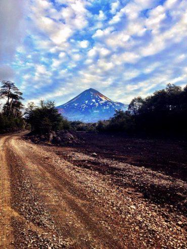 parc national conguillio chili region lacs