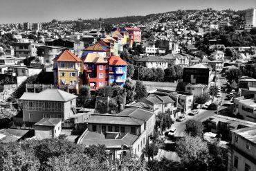 chili valparaiso ville street art peintures murales